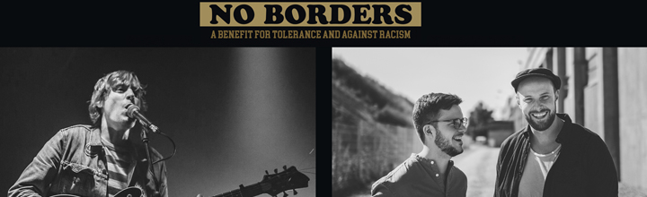 NO BORDERS – A Benefit for Tolerance and against Racism – mit PAULY & The Great Faults